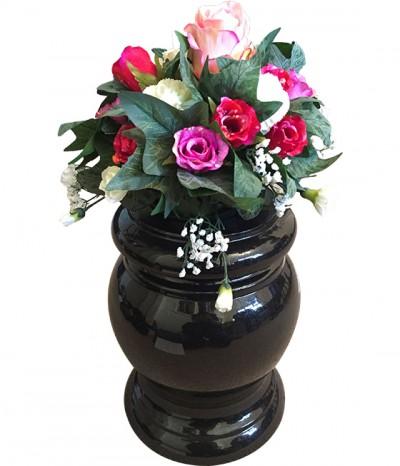 Rose Bowl Granite Vase