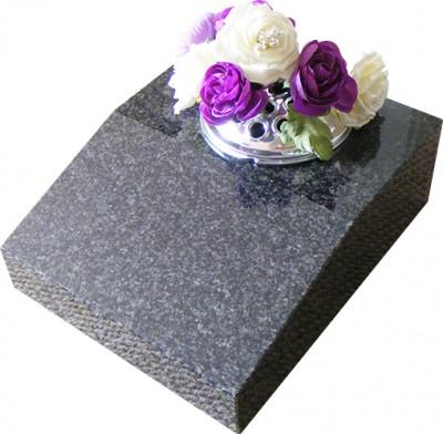 Grey Splayed Vase